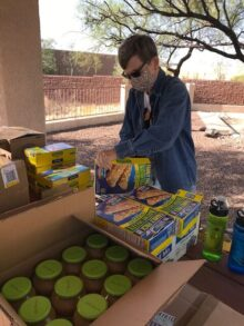 Thanksgiving meals for Homer David elementary school